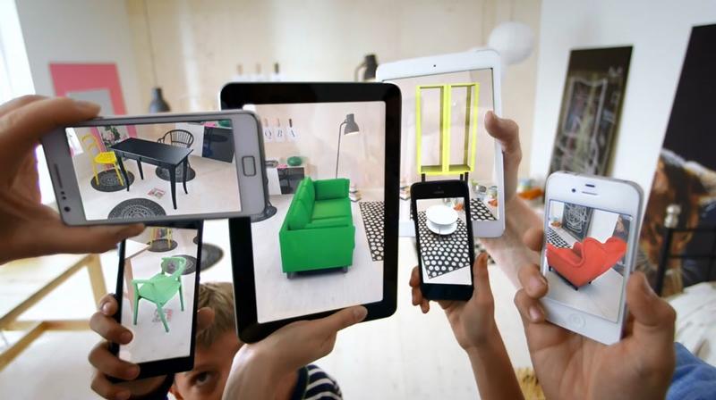 واقعیت افزوده به کمک شرکت IKEA آمده و توانسته با یک تکنیک جالب تجربه ای مدرن در خرید برای مشتری بوجود آورد