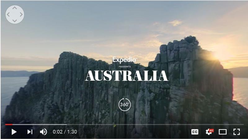 سفر به استرالیا با یک ویدیوی ۳۶۰ درجه