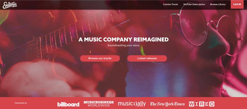 بازاریابی ویدیویی - موسیقی متن - کتابخانه صوتی Epidemic Sound