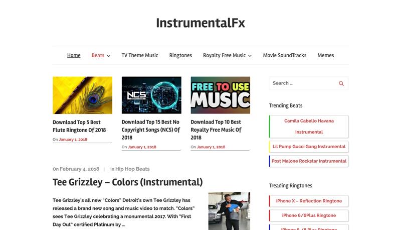 موسیقی متن ویدیو - کتابخانه صوتی InstrumentalFX