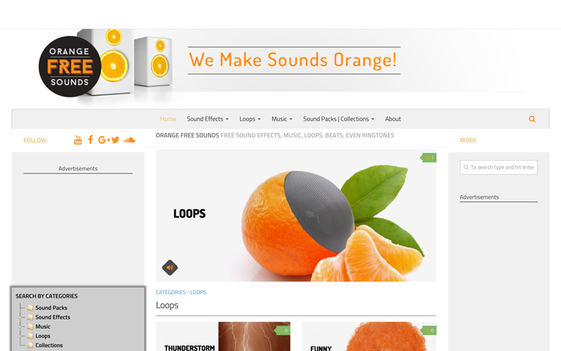 موسیقی متن ویدیو - کتابخانه صوتی Orange Free Sounds