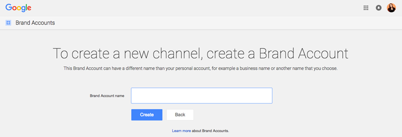 انتخاب یک نام مناسب از برند خودتان برای کانال ویدیویی یوتیوب
