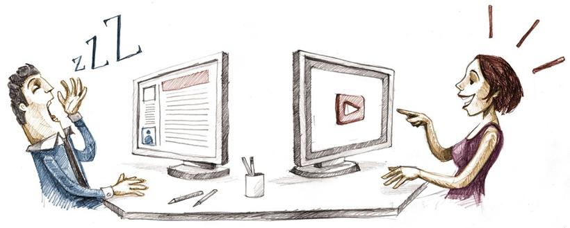 هرچه سریعتر نسبت به تولید محتوای ویدیویی برای وبسایت و وبلاگ خود اقدام کنید.